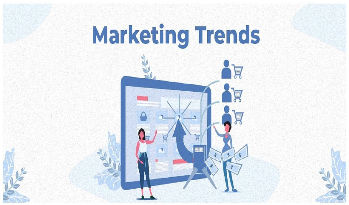 graph of marketing trends